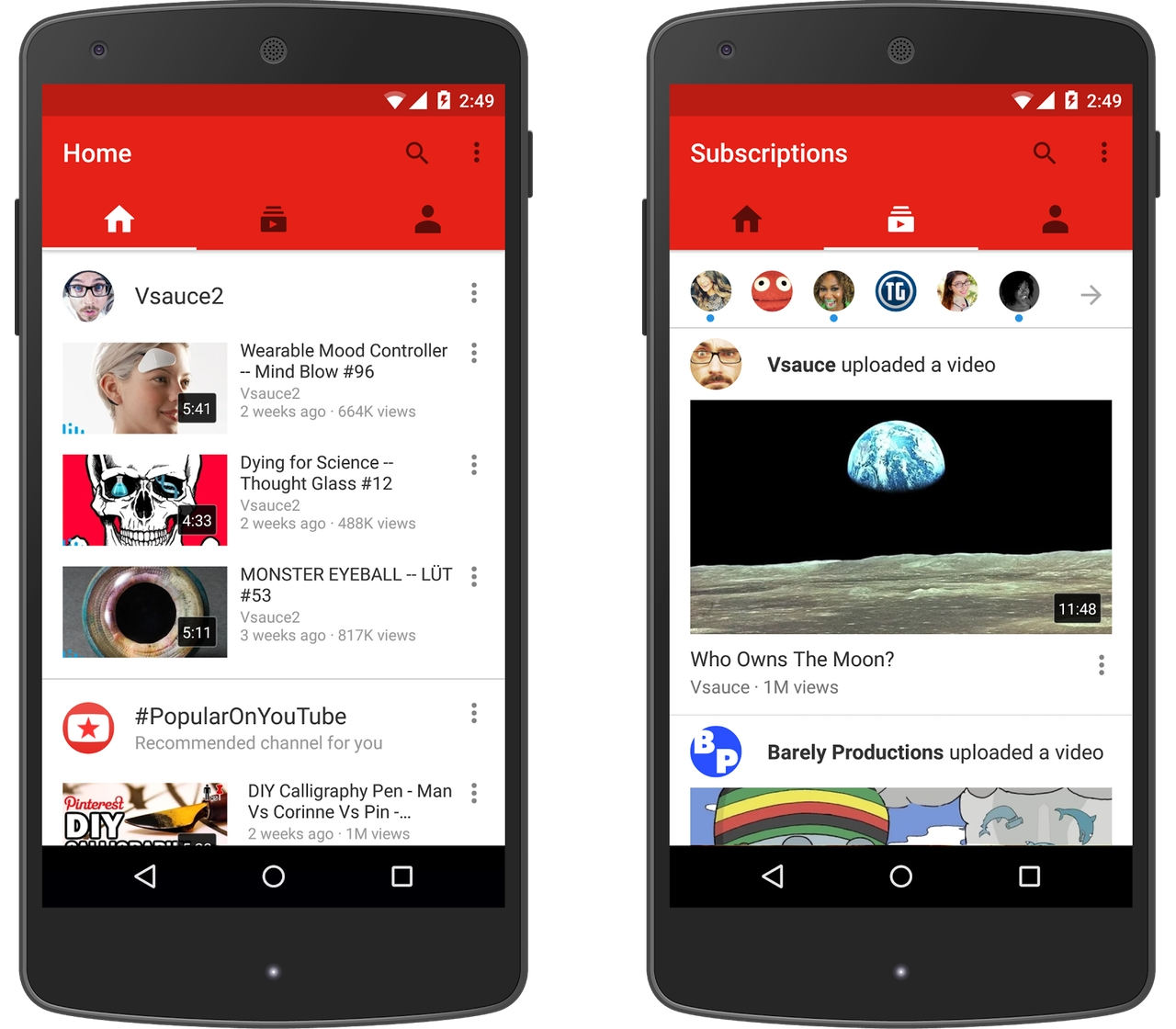 android app for youtube video download