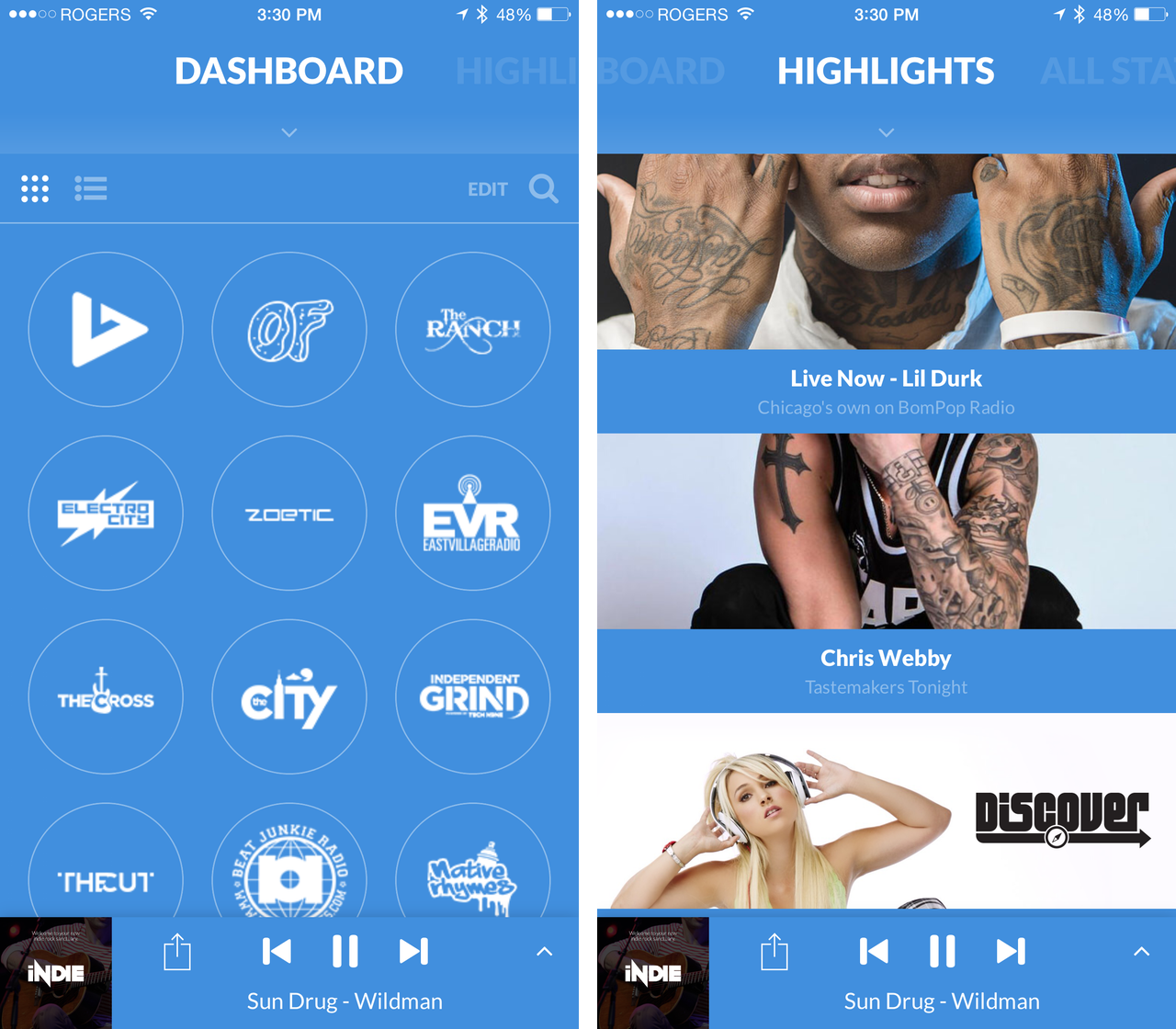 Image result for dash radio app