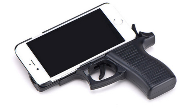 Here S The Reason Using A Gun Shaped Phone Case Is A