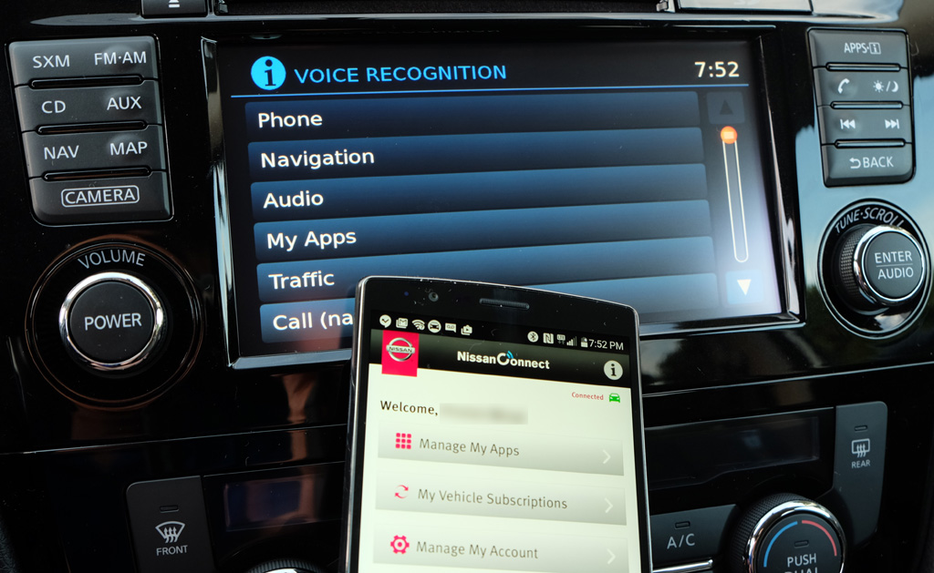 Review: Smartphones and the NissanConnect infotainment system