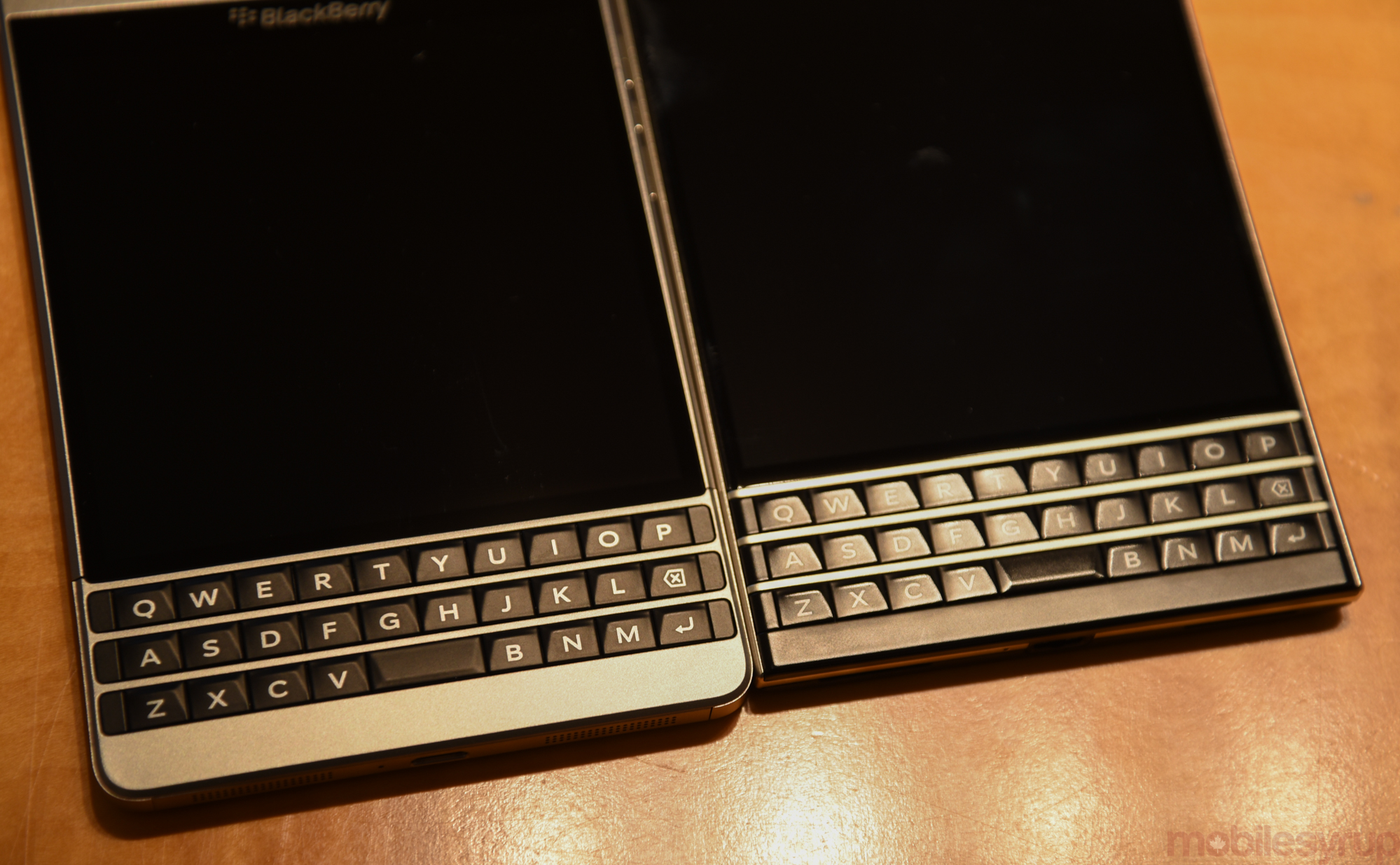 blackberry silver edition vs blackberry passport
