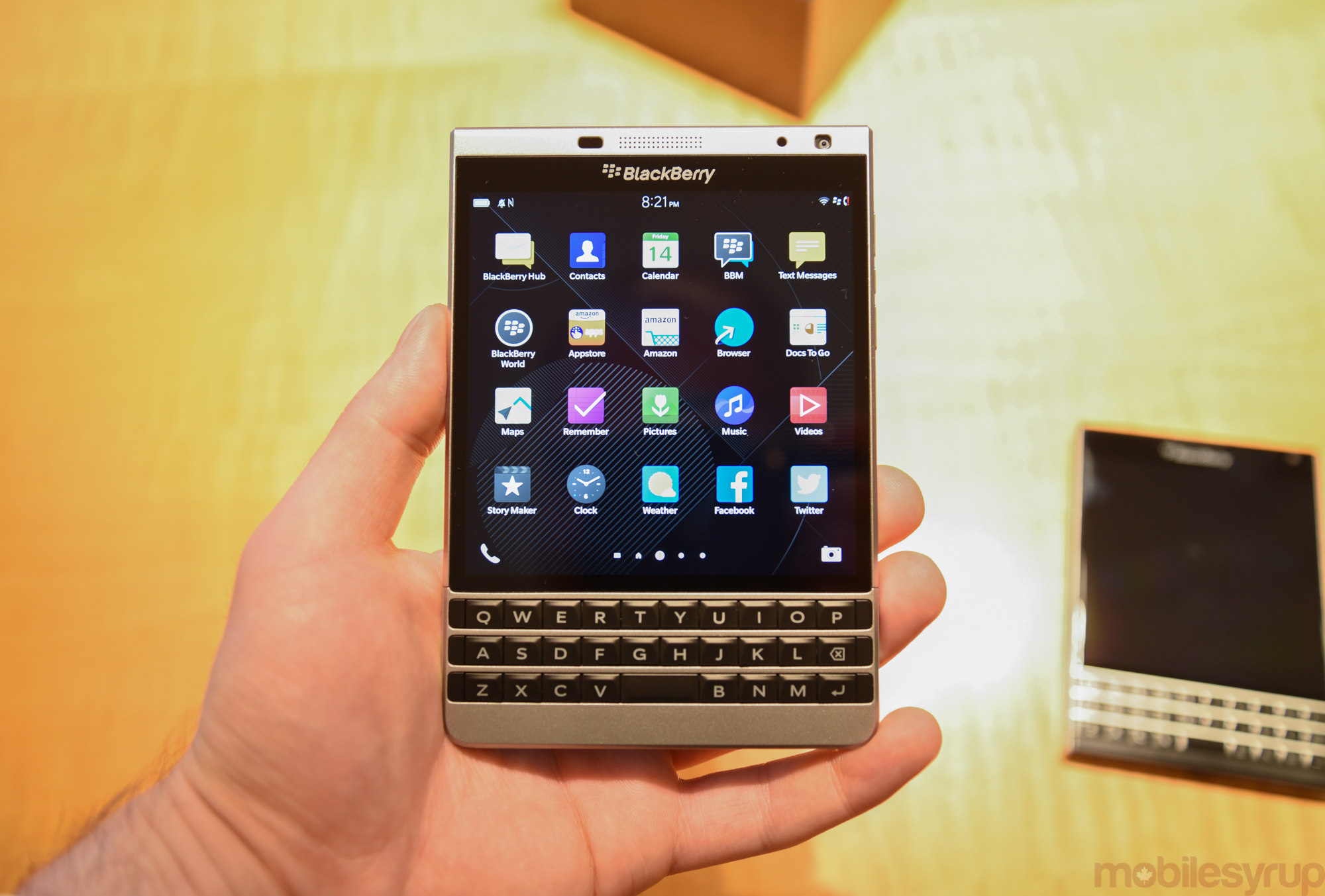 Hands On With The Blackberry Passport Silver Edition