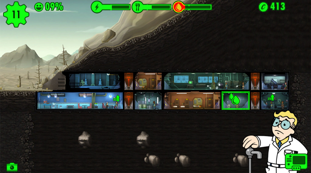 Low On Food Fallout Shelter