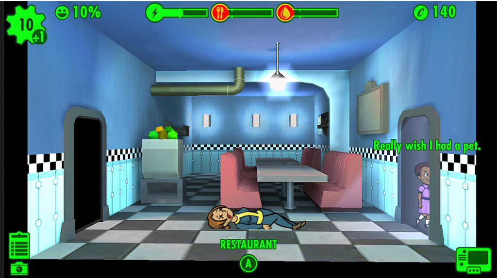 Fallout Shelter review: Perfect for mobile, but lacks depth