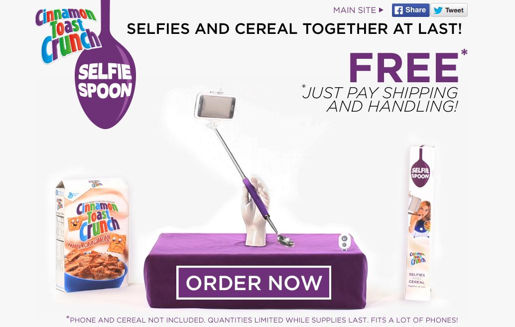 Selfie Spoon