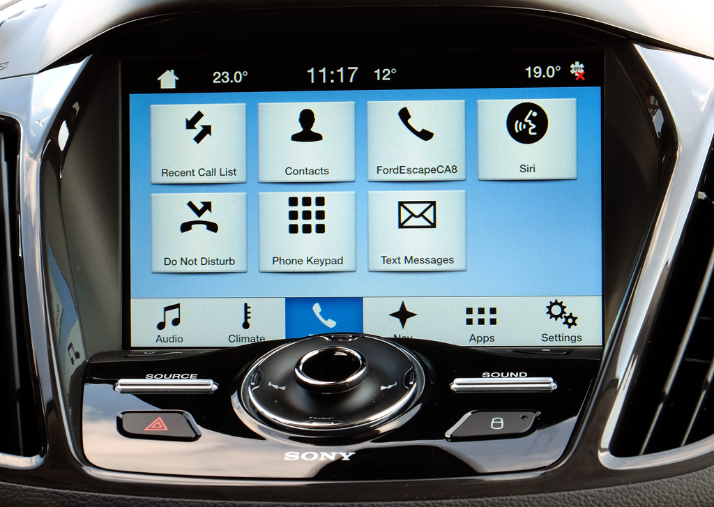 ford sync 3 hands on review smarter cars from the inside mobilesyrup. Black Bedroom Furniture Sets. Home Design Ideas