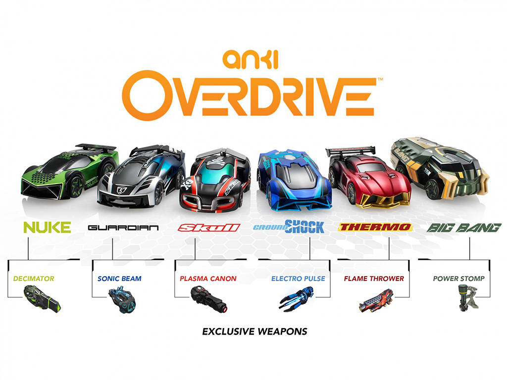 Real world racing game Anki Overdrive is finally available in Canada