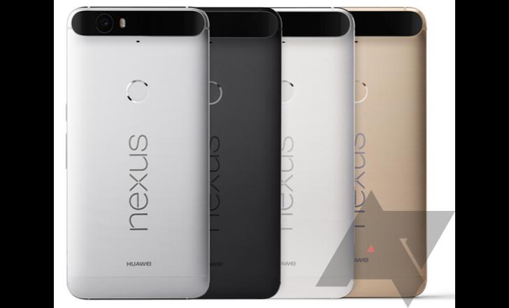 Nexus 6P colours