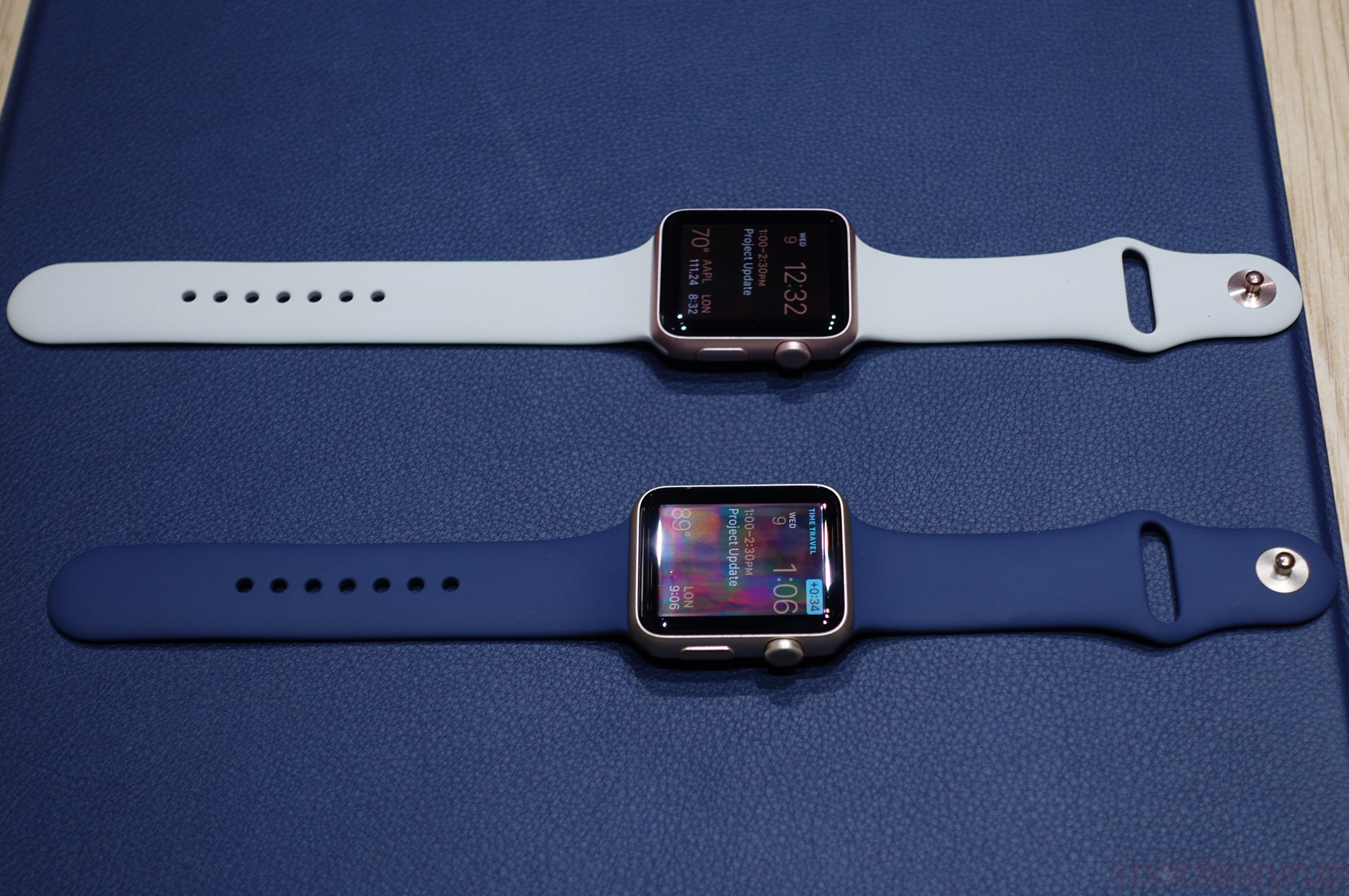 Hands On New Gold And Rose Apple Watch Cases Add More Sport Smart 42mm Applewatchupdates 01139 Also Released
