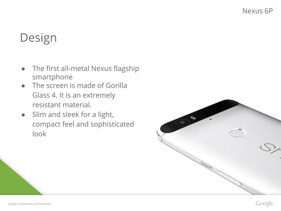 Nexus 6P Presentation