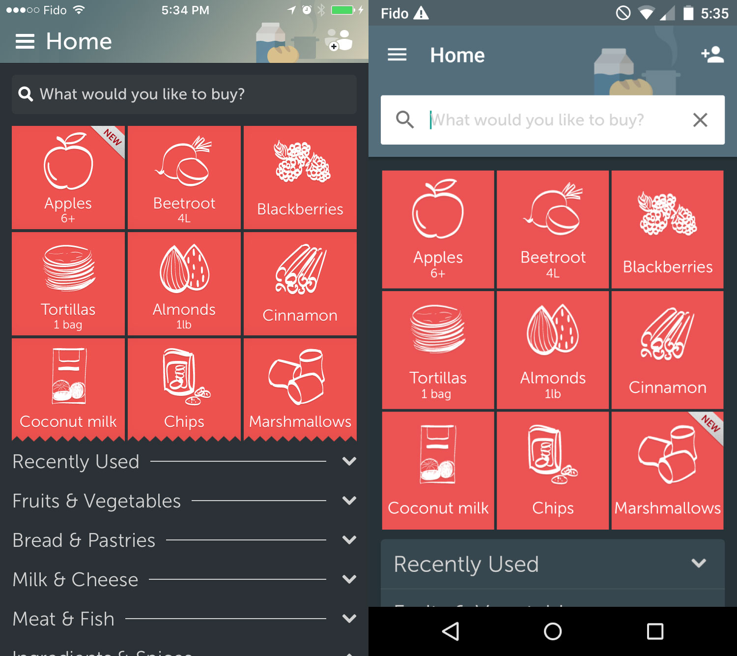 best free grocery shopping list app for android