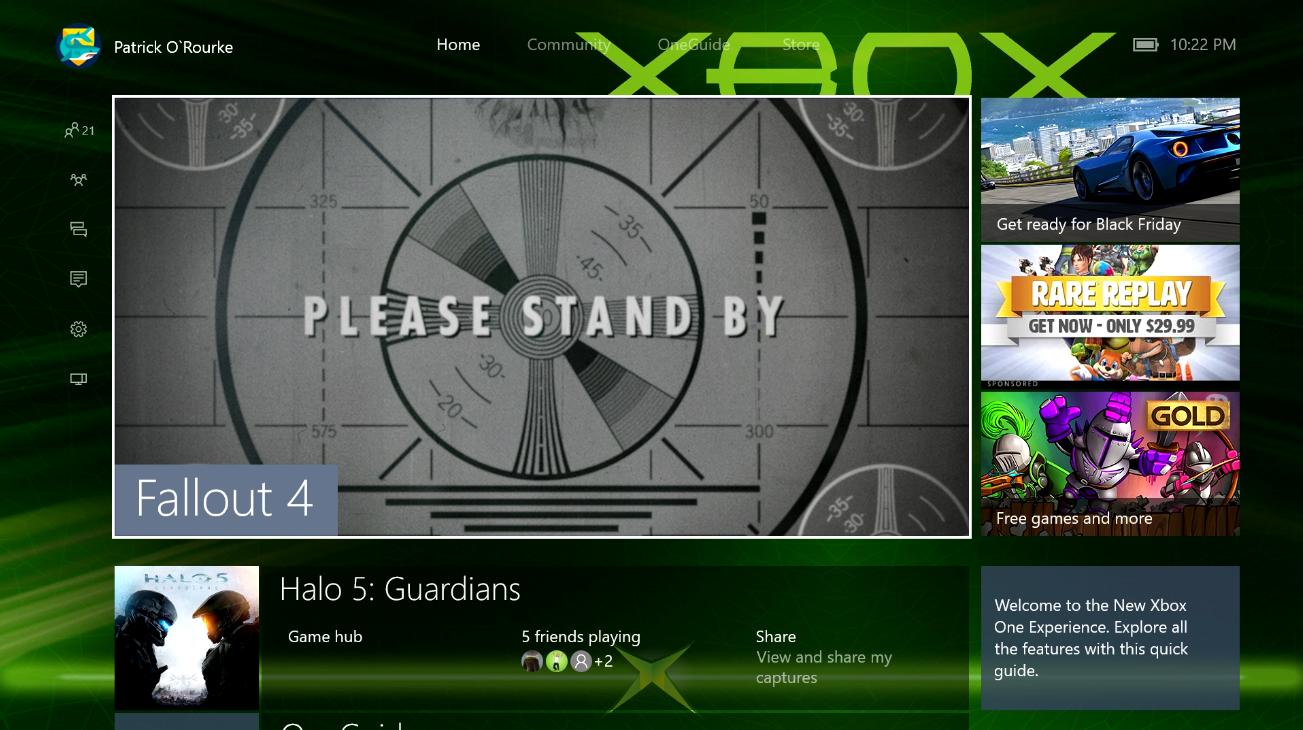 Xbox One OS 3