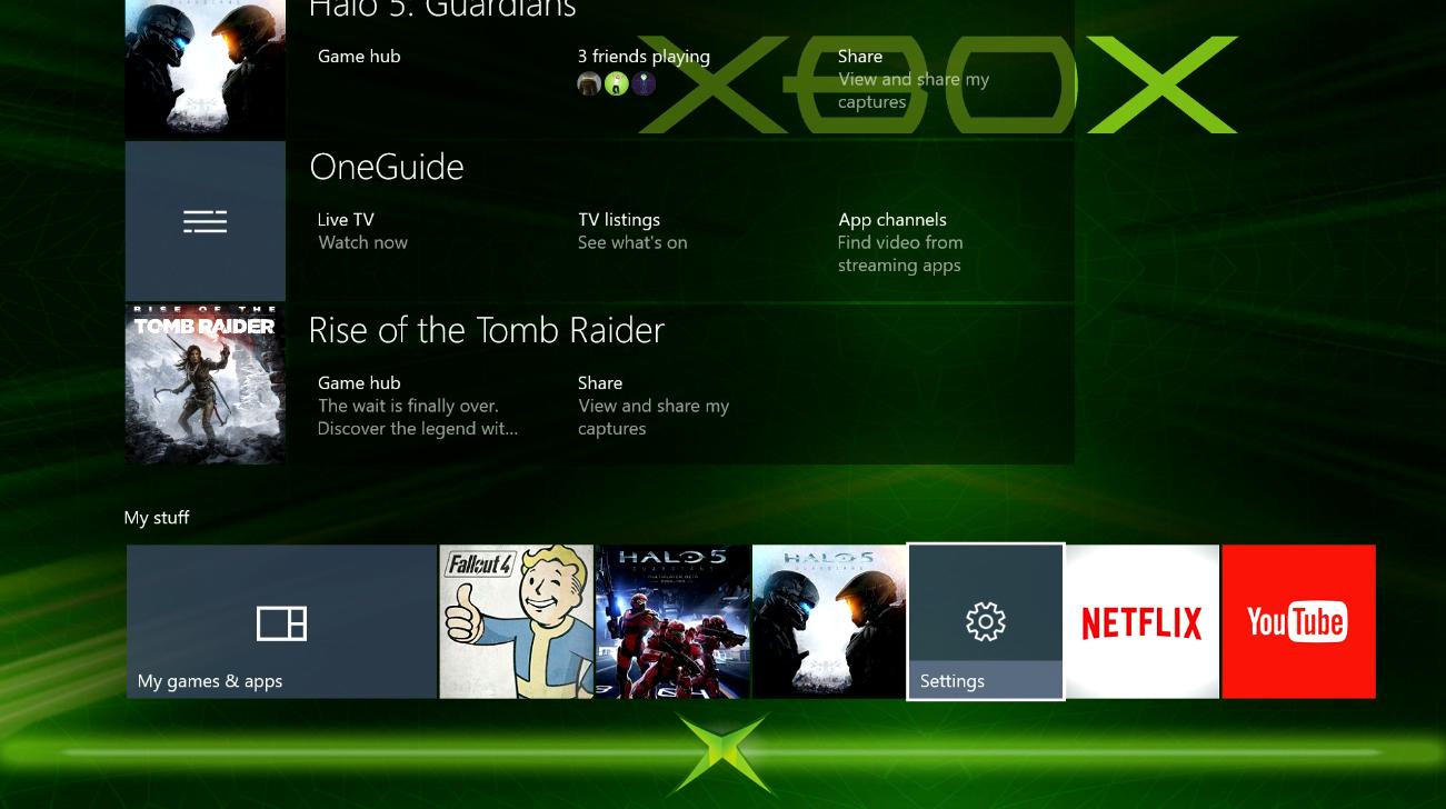 Xbox One OS 6