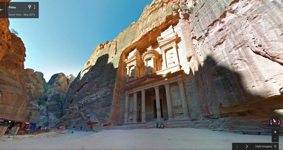 Petra Google Street View