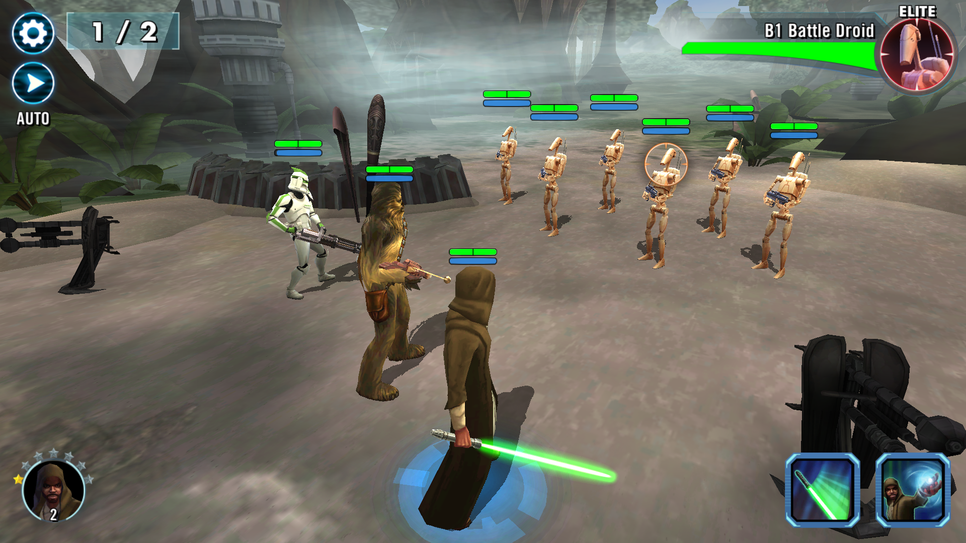 EA's Star Wars Galaxy of Heroes 'is not the mobile game you're