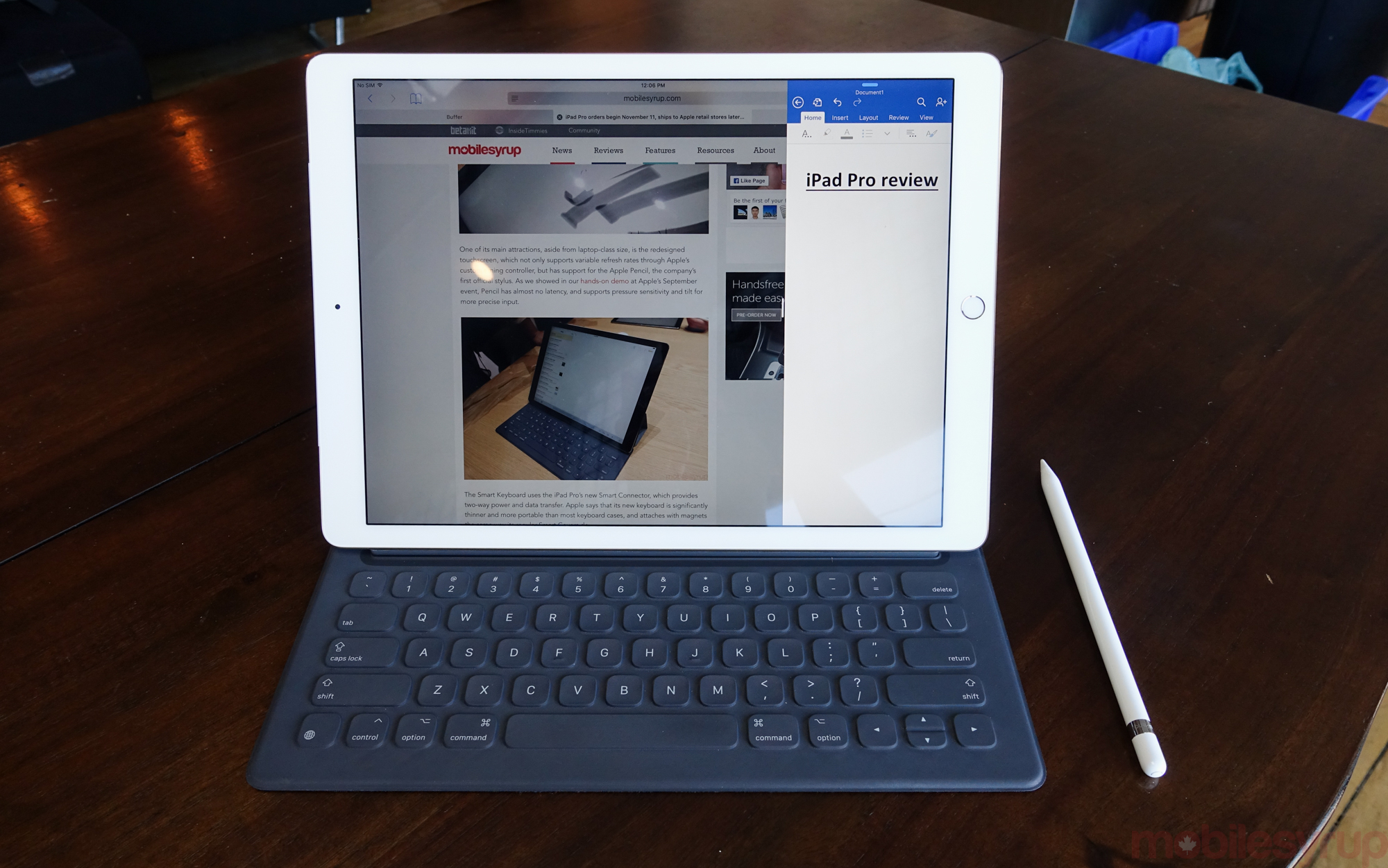 Ipad pro smart keyboard and apple pencil shipping delayed for Ipad pro projector