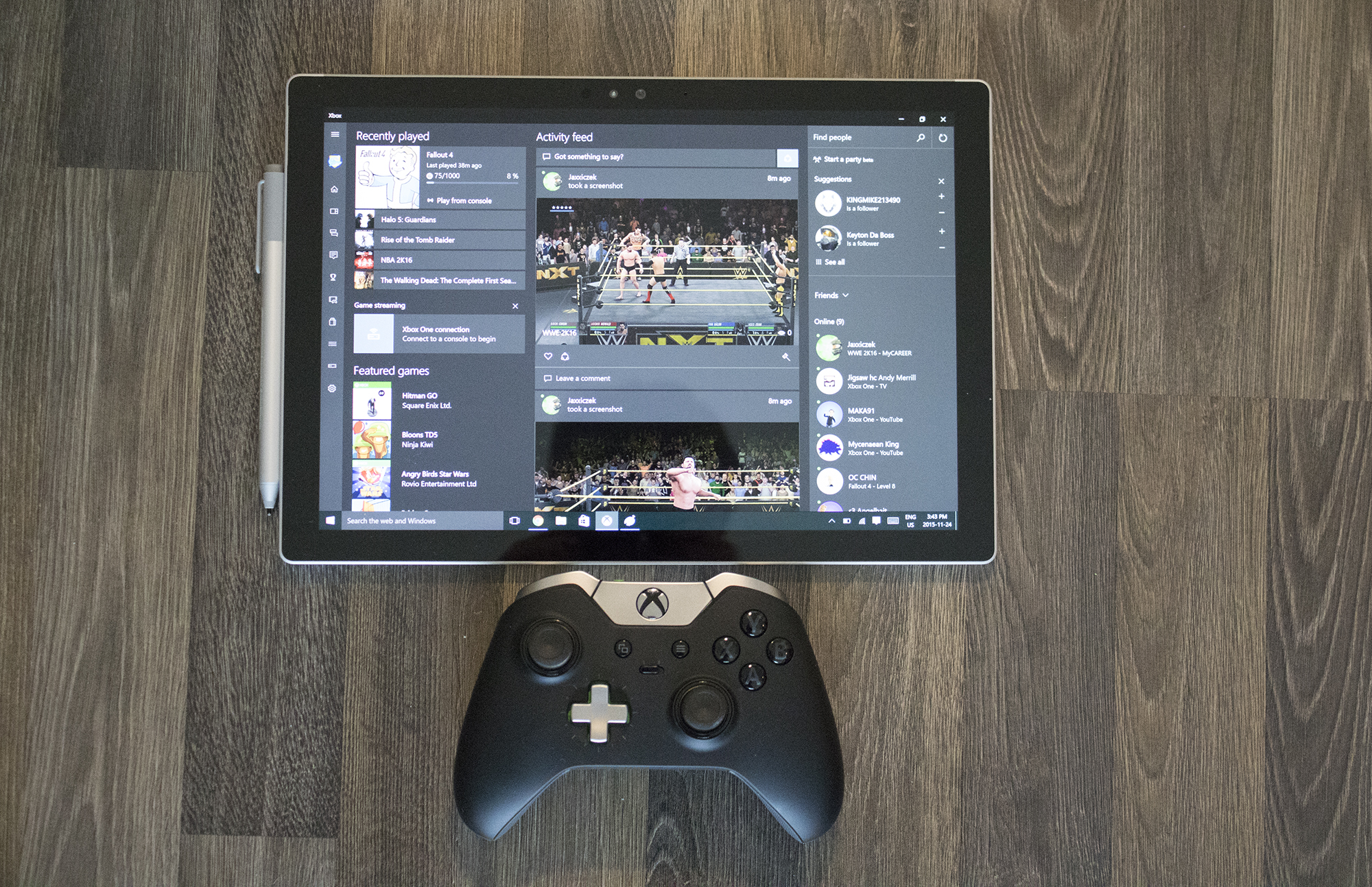 xbox one in-home streaming