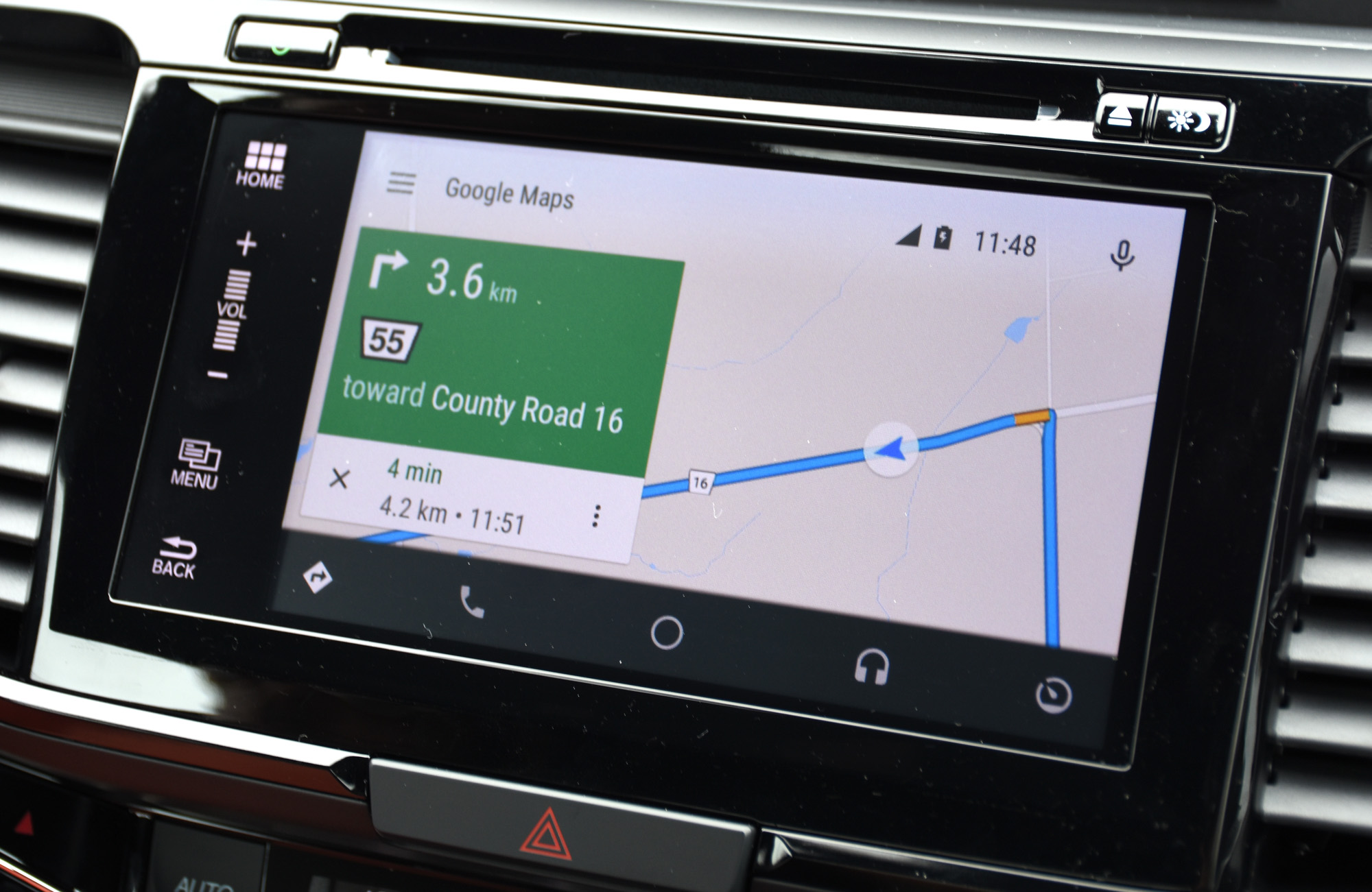 Android Auto Google Maps_1
