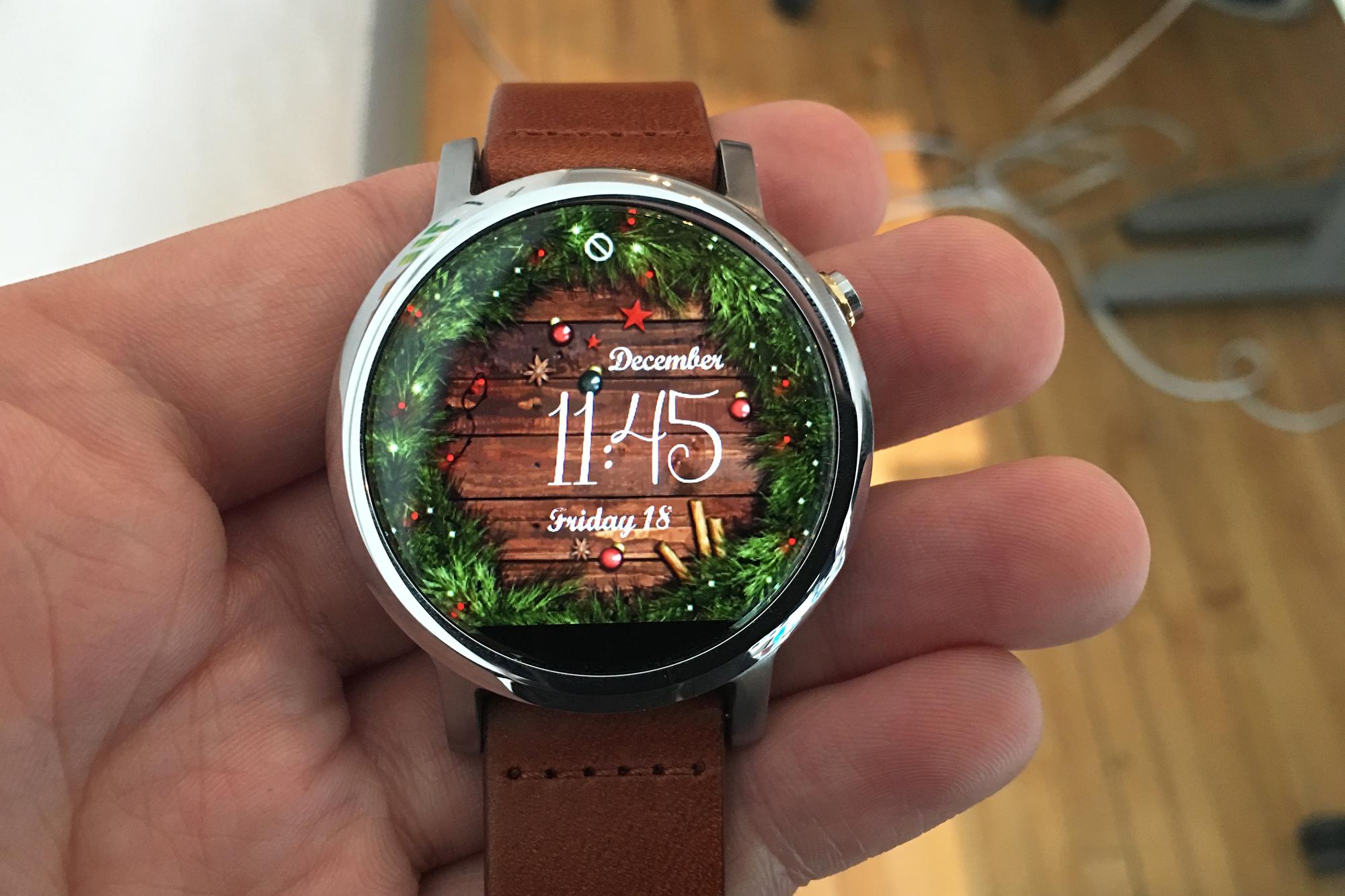 watchfacechristmas
