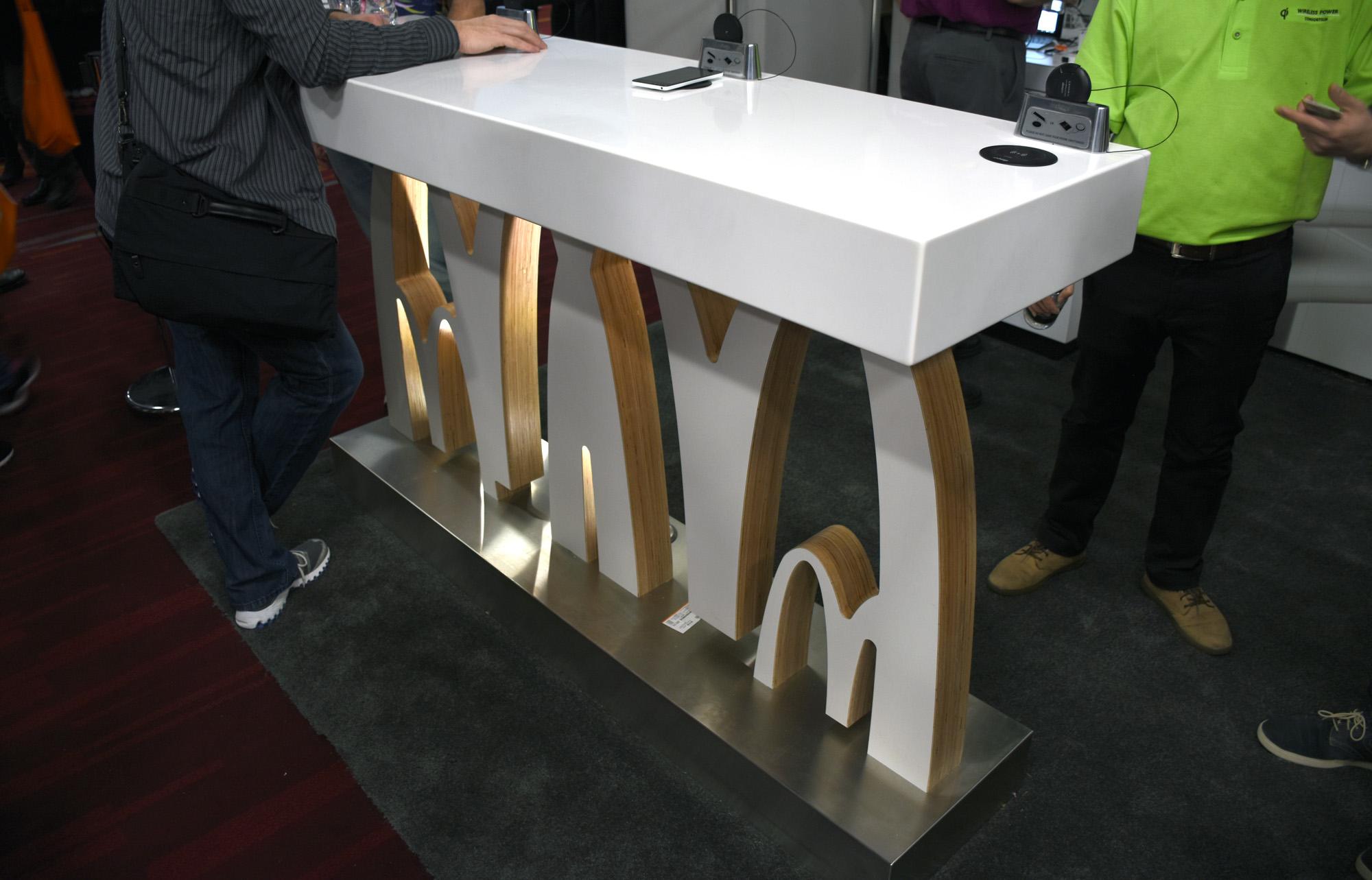 Qi McDonald's table_1