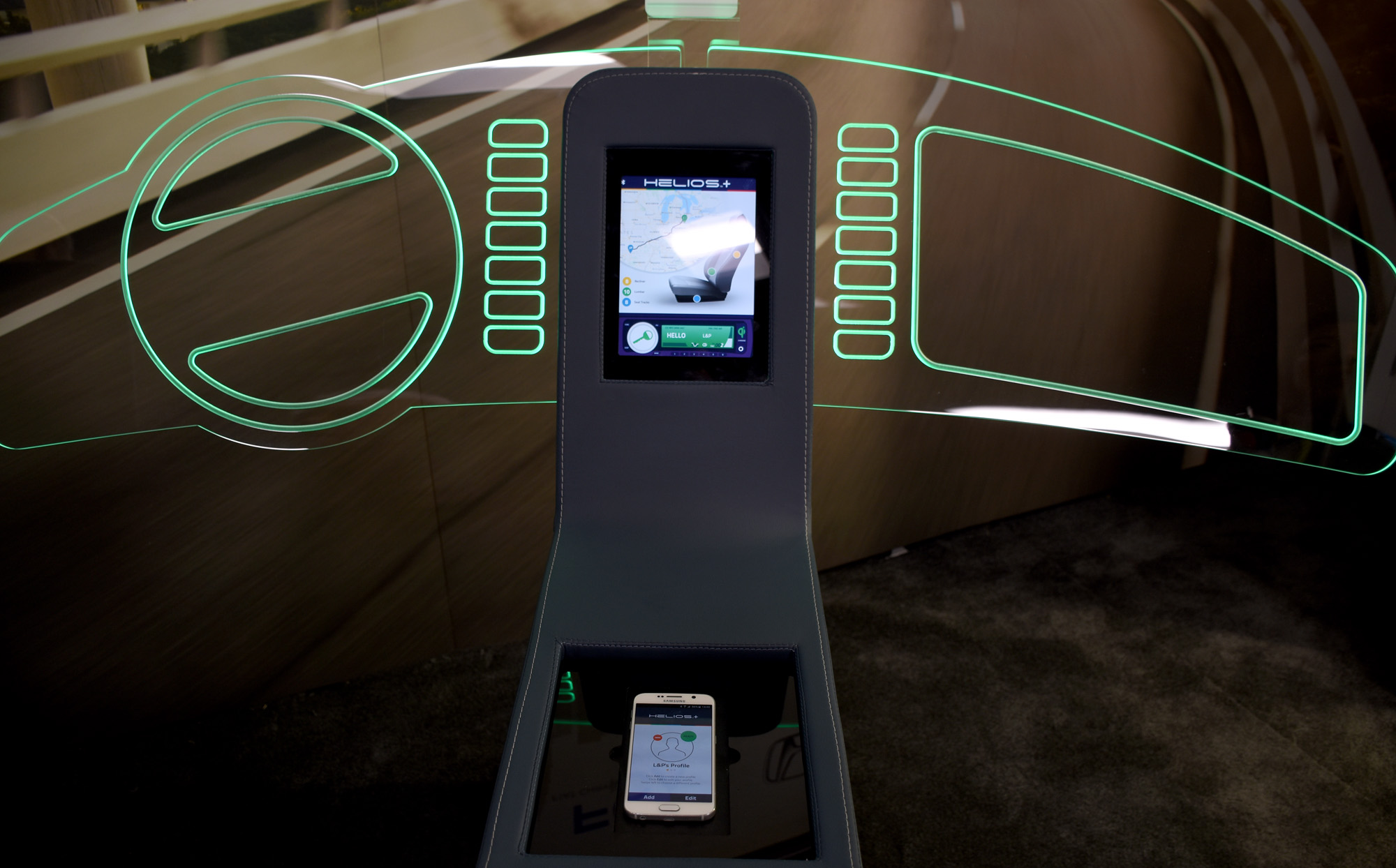 Qi wireless charge profile car_1