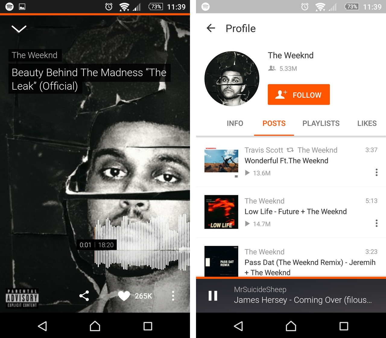 SoundCloud Android