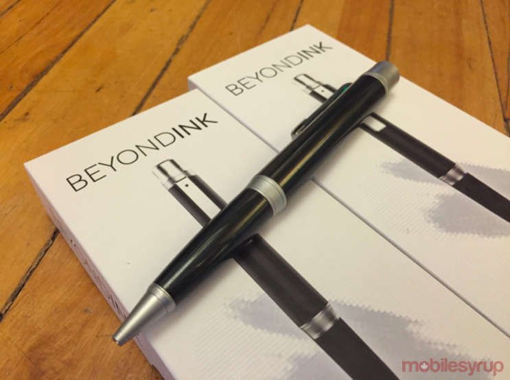 Win one of two Beyond Ink pens that double as a battery pack [Contest]