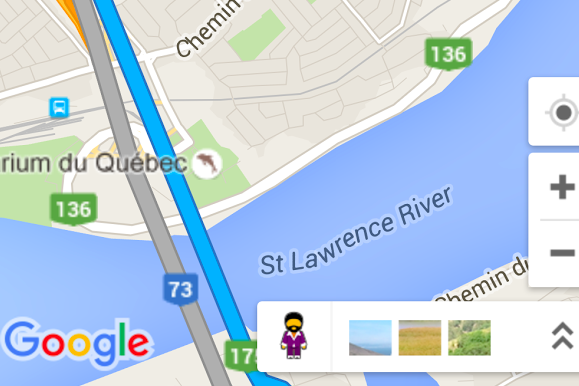 There is now a Funky Town Pegman in Google Maps | MobileSyrup on world map quebec, major lakes in quebec, mapquest quebec, detailed map of quebec, google earth quebec,
