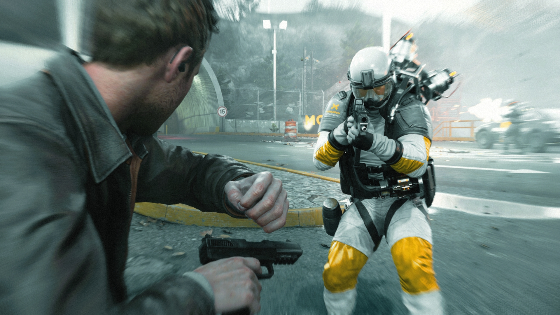 Quantum Break Xbox One striker