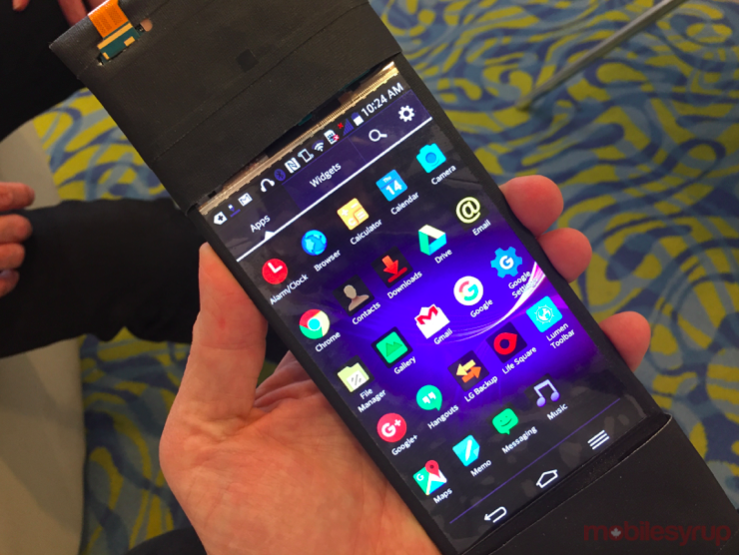 Hands-on with ReFlex, the flexible Android-powered smartphone