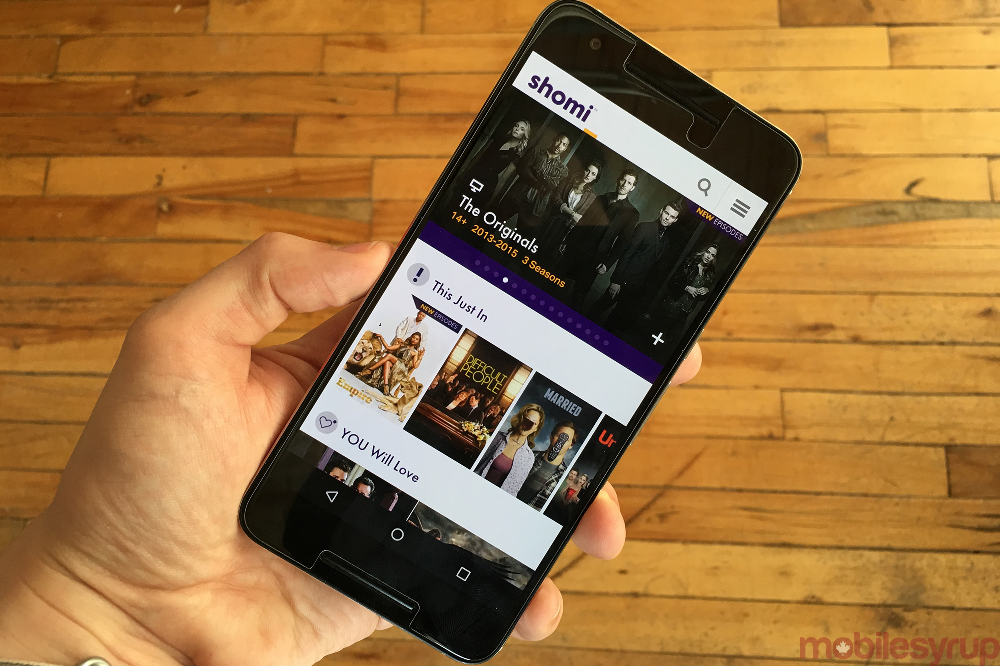 MyRogers And Shomi Mobile App Update Adds New Features
