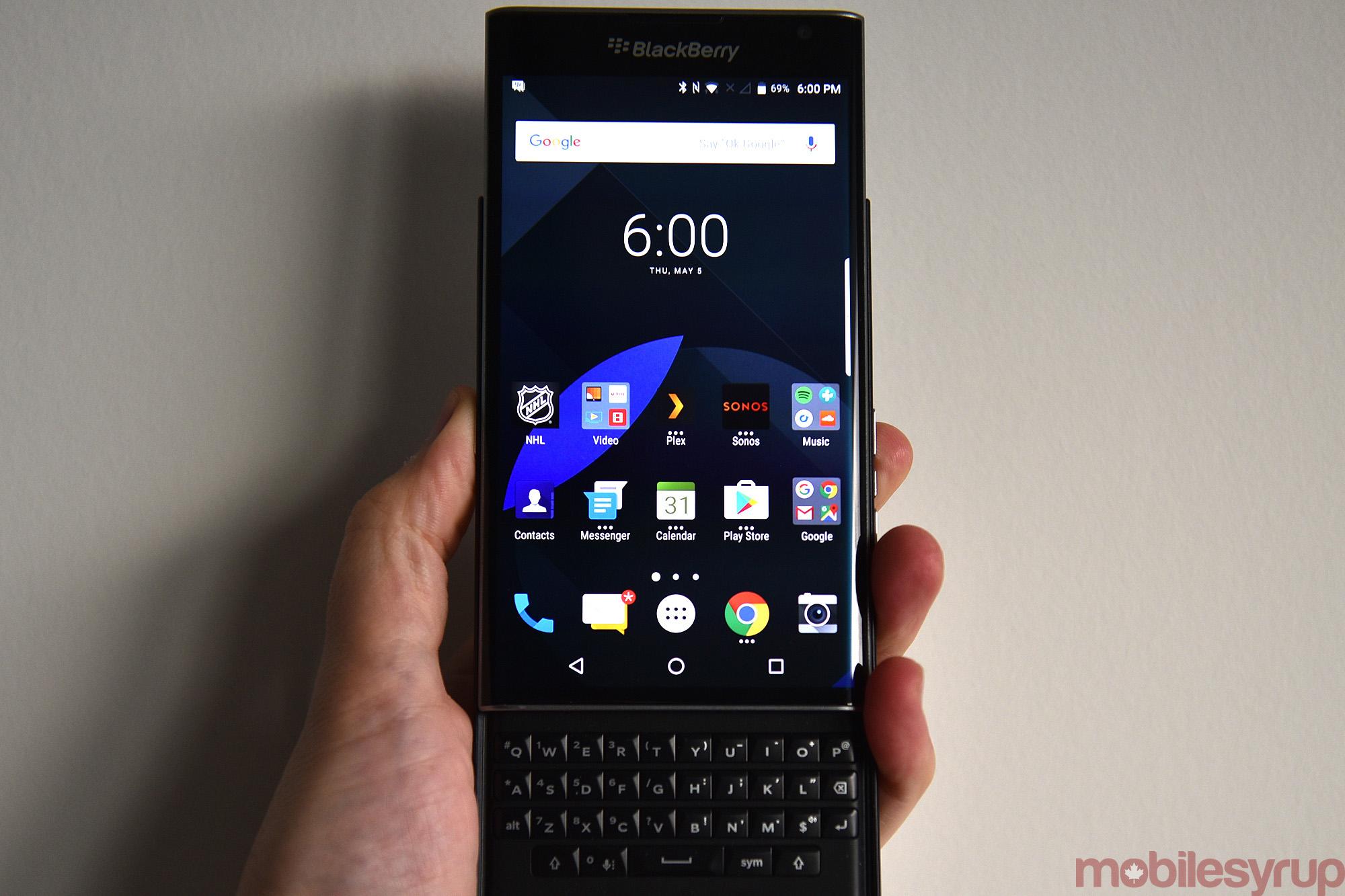 The blackberry priv six months later mobilesyrup priv 3 buycottarizona
