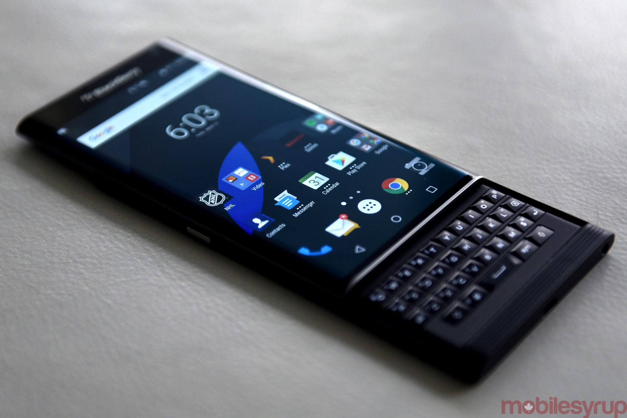 timeless design ff0ae 4130e The BlackBerry Priv, six months later | MobileSyrup