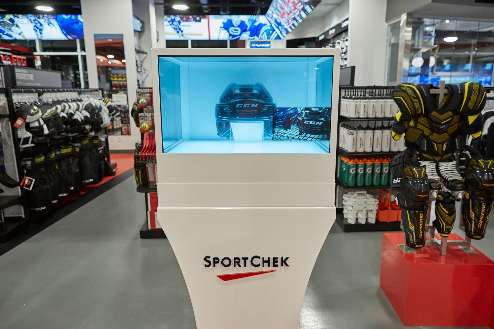 Sport Chek S New Vancouver Flagship Store Features 3d