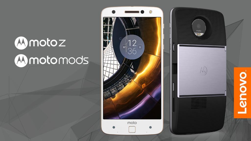Lenovo announces modular Moto Z and Moto Z Force at Tech ...