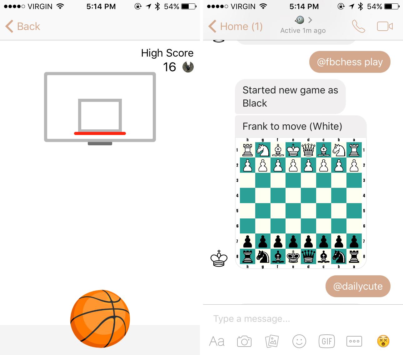 basketball and chess