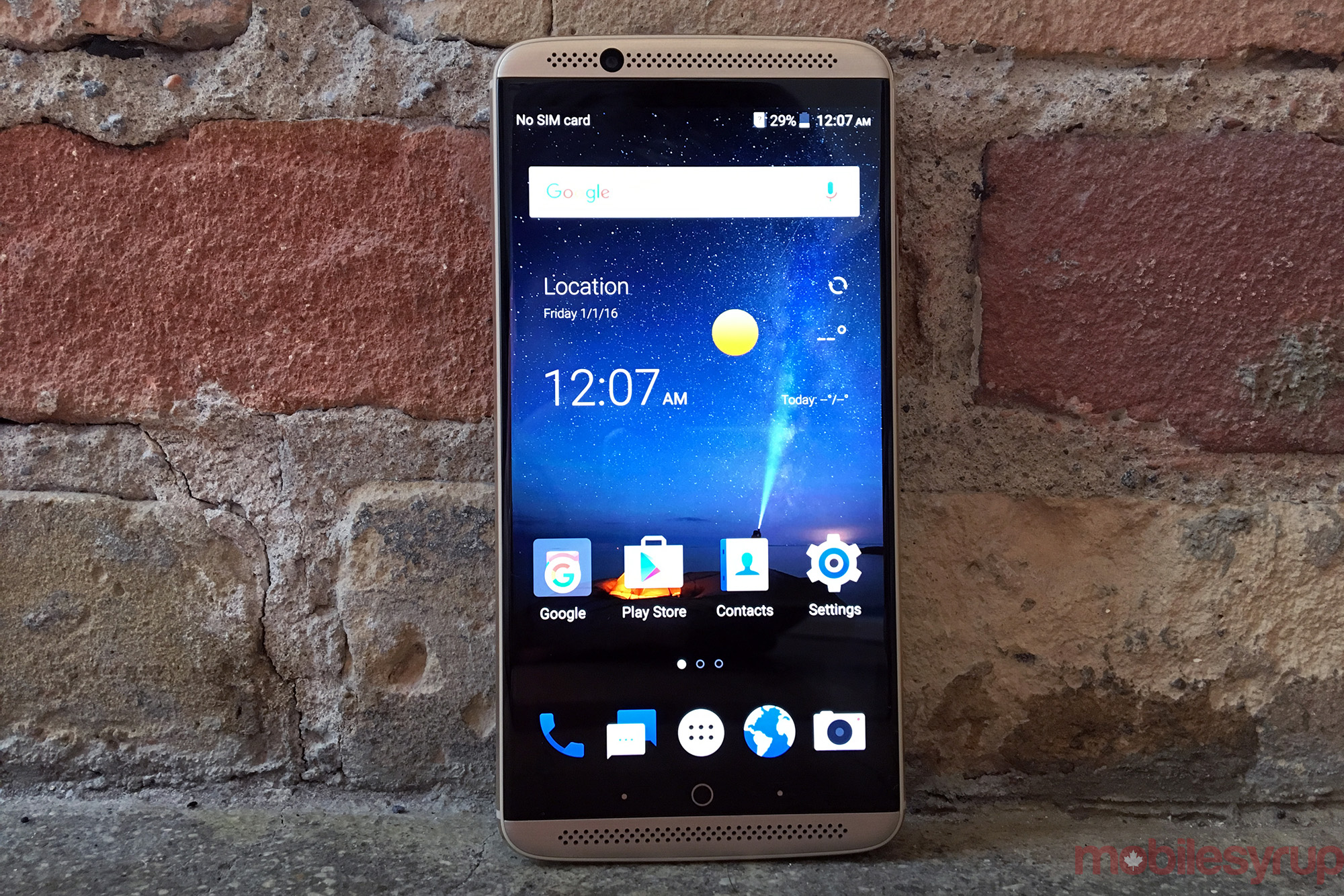 The Axon 7 Purports To Feature Stock Android Marshmallow 601, But It's  Worth Noting That There Are Definite Caveats For One, Users Will Have To  Go Into