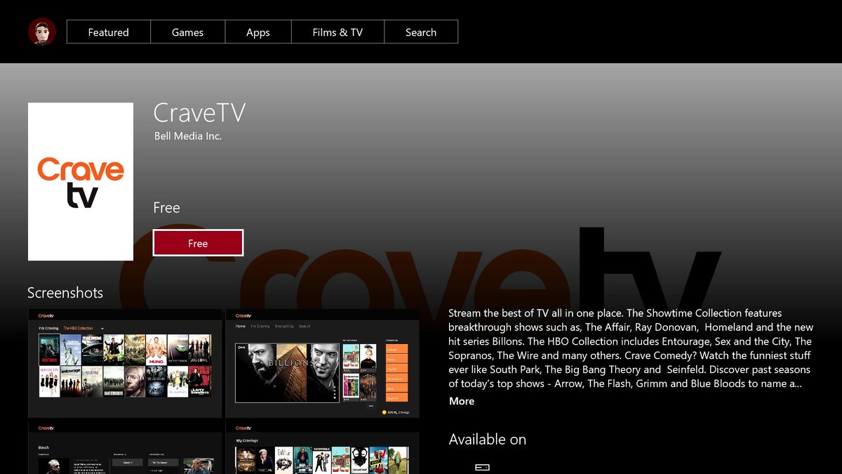 Cravetv App Now Available On Xbox One Mobilesyrup