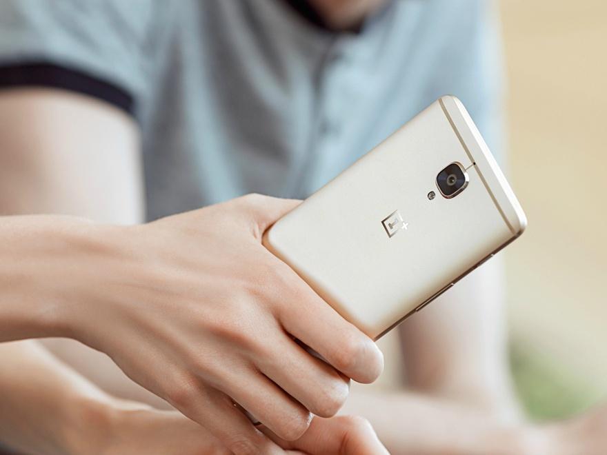 Gold OnePlus 3