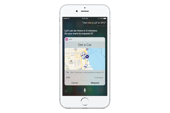 siri lyft integration