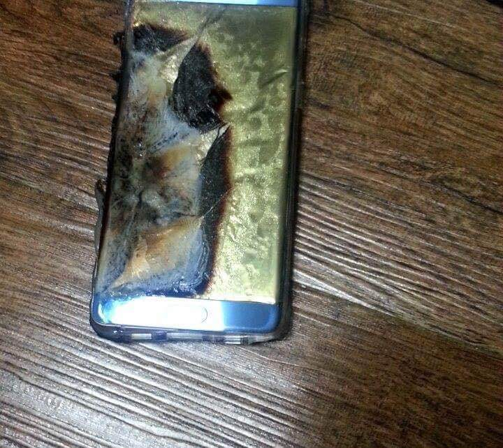 exploded samsung galaxy note 7 2