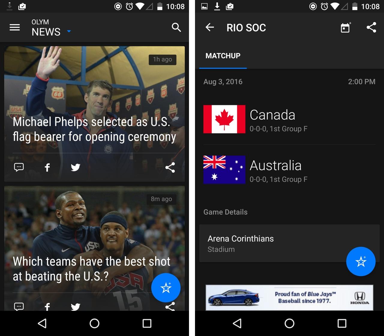 theScore Rio 2016