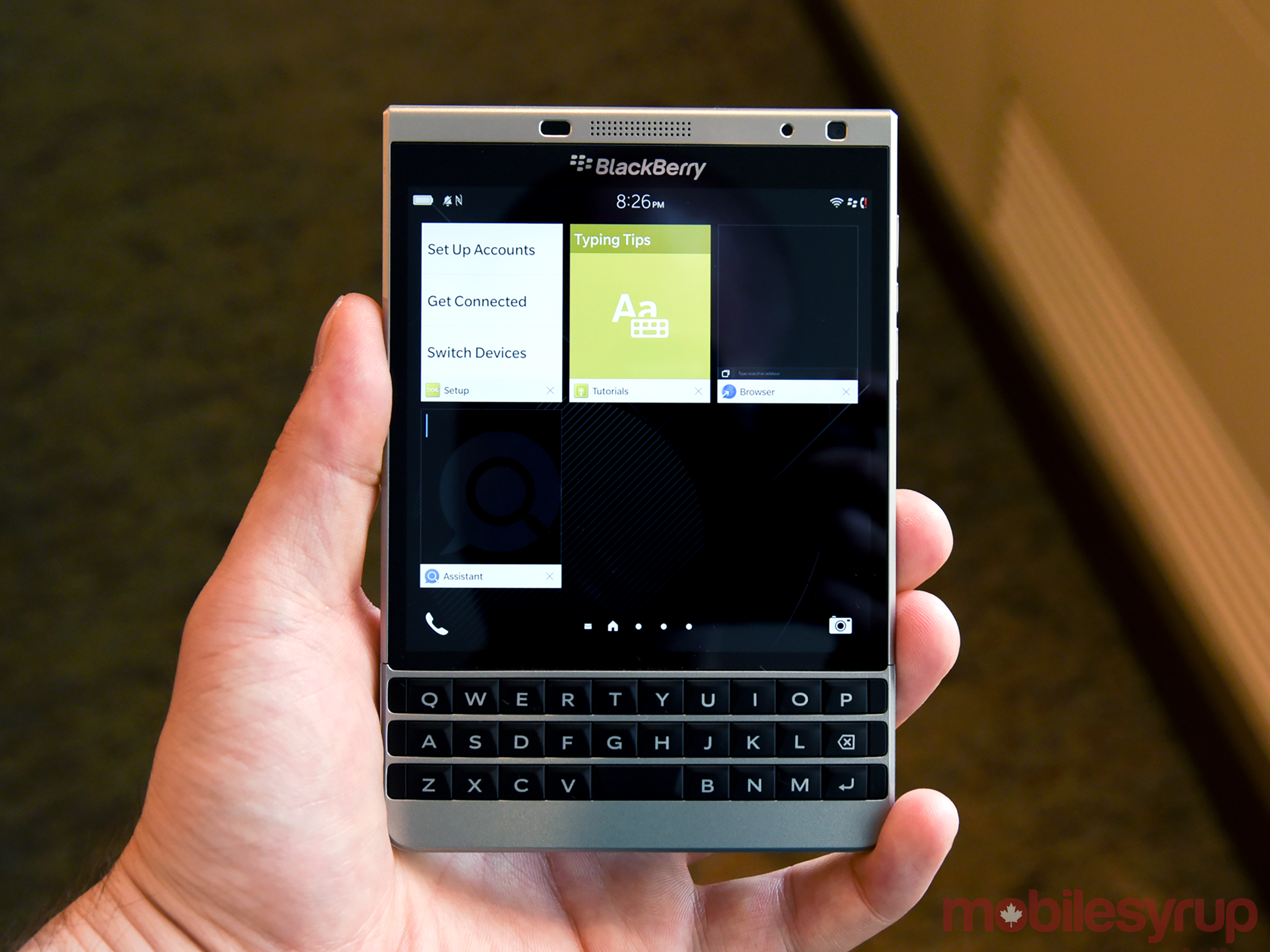 Why BlackBerry never released an Android-powered Passport