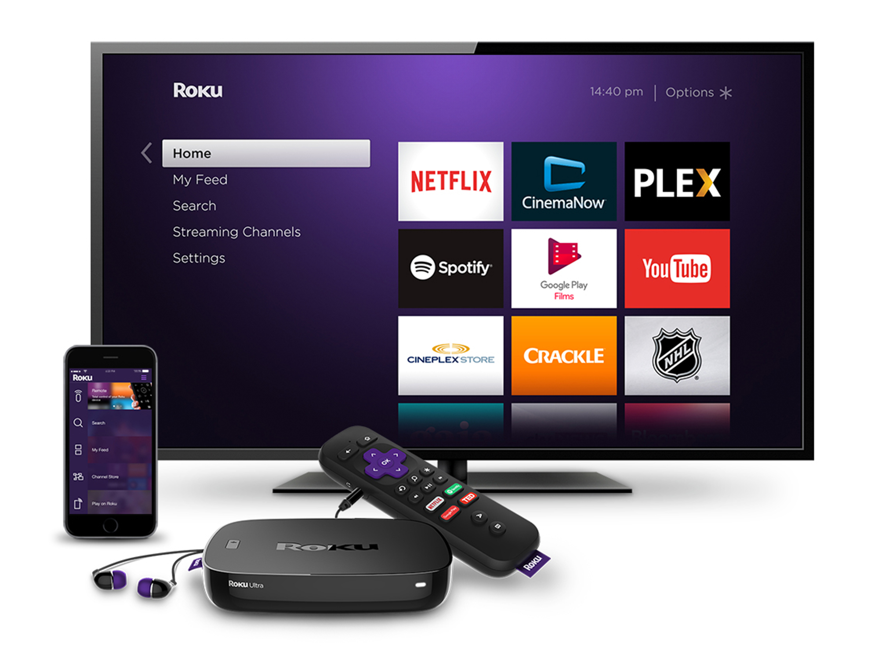 Roku Refreshes Lineup With Roku Express Roku Premiere And