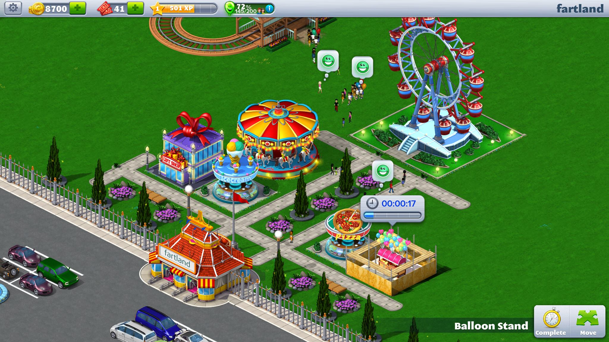 Build your dream park with RollerCoaster Tycoon 4 Mobile