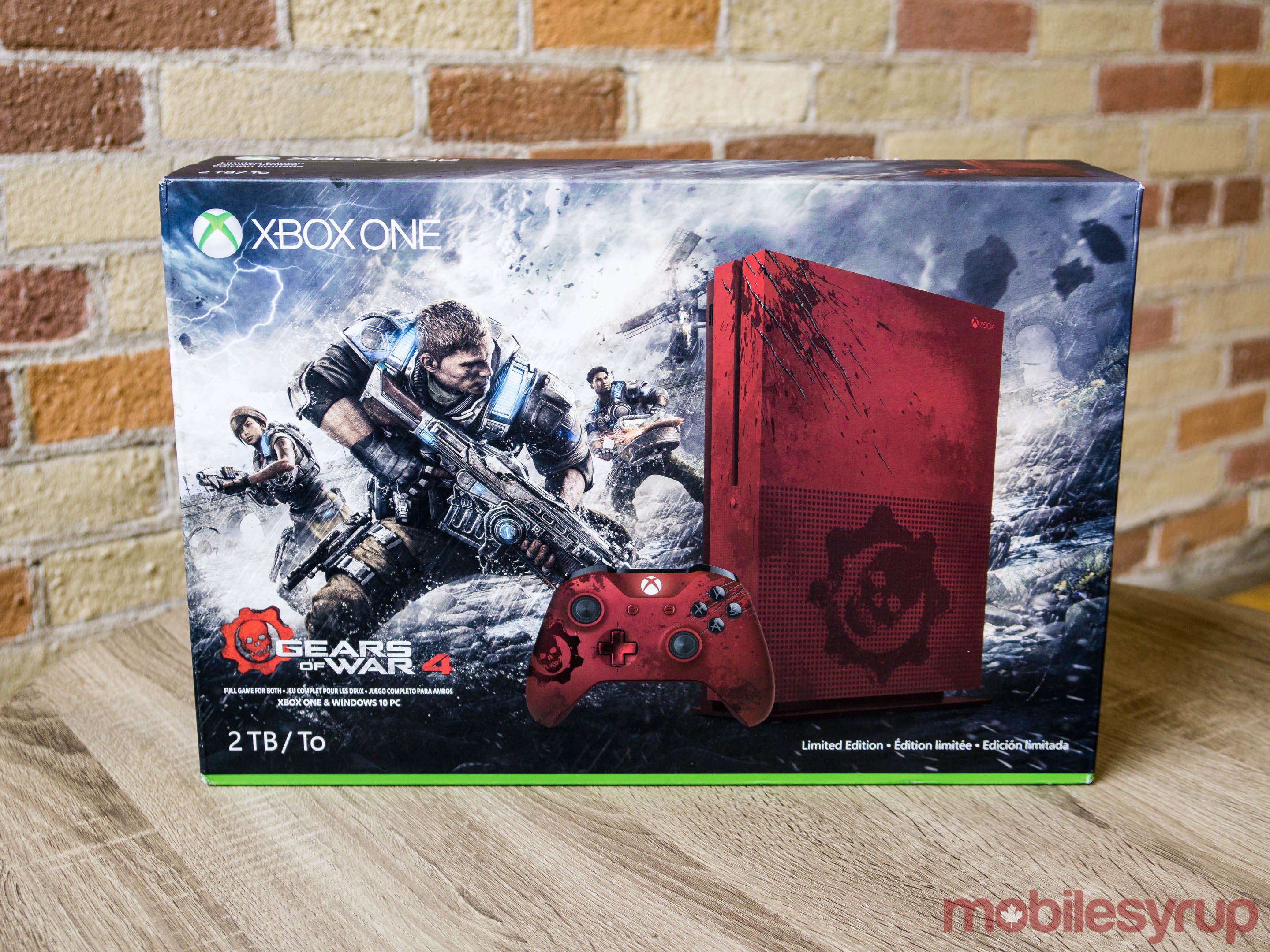 Hands On With The Gears Of War 4 Limited Edition Xbox One