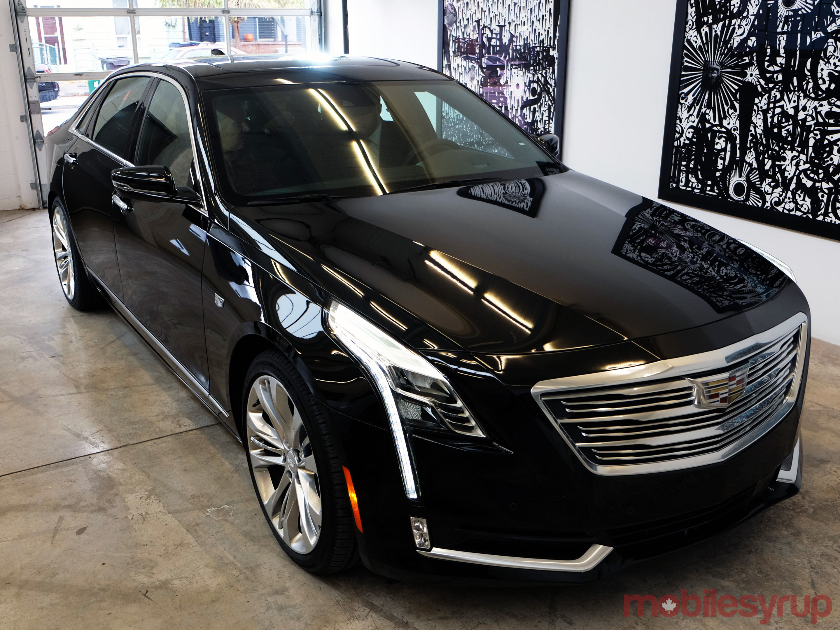 2017 cadillac ct6 sedan hands on checking out cadillac s new connected car mobilesyrup. Black Bedroom Furniture Sets. Home Design Ideas