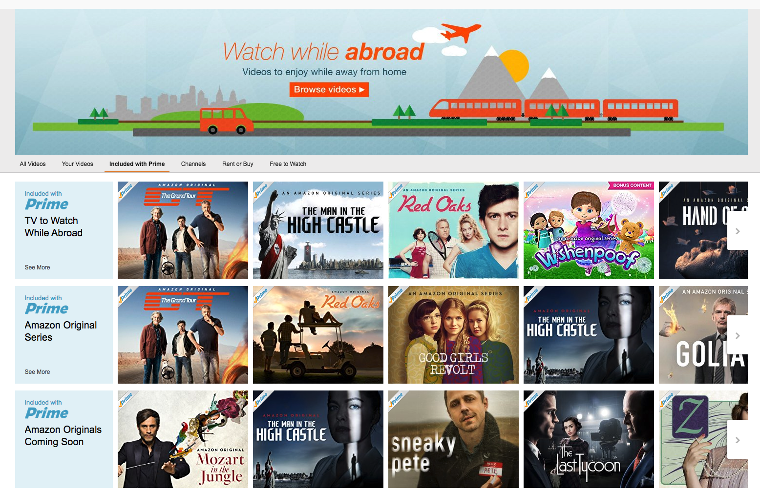 You Can Now Stream Amazon Prime Video Original Content In