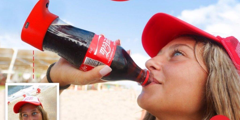 Coca Cola Selfie Bottle