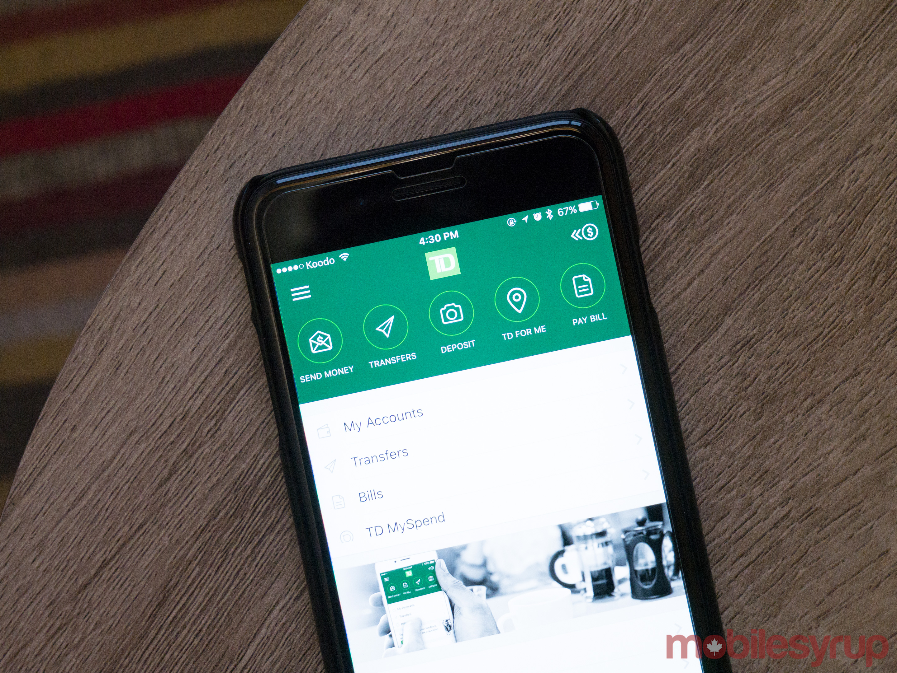 TD Canada Trust iOS app adds support for Touch ID | MobileSyrup